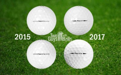 Titleist Pro V1 2015 vs 2017 – What you need to know