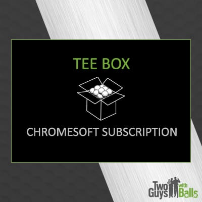 golf ball subscription chrome soft