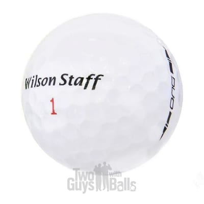 used wilson duo golf balls